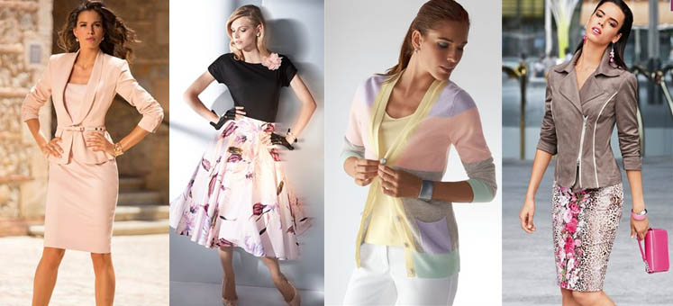 Summer 2014 fashion colors. Fashion Magazine Madeleine.